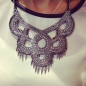 Tallulah Bib Necklace $69.00