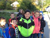 Walk to School Day! October 7, 2015