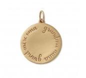 """Round """"Grandma"""" - Italian Bronze"""