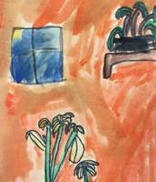 3rd Grade Watercolor Plants