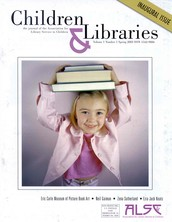 Fall 2015 issue of Children and Libraries focusing on Diversity.