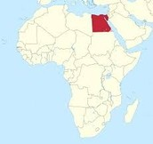 Egypt in comparison to Africa