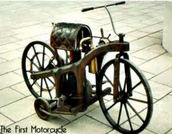 First Motorcycle made in 1885.