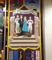 Our 2014 Paint it up window!