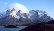 Part of the Andes Mountain Range