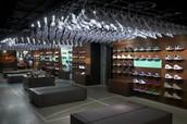 Inside Nike Store
