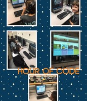 We participated in Hour of Code!