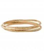 Rhea Bangles - Gold $39.50