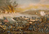 A picture of the battle.