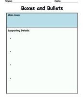 Box and Bullets