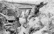 """""""War in a trench"""""""