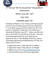 Be Tru & Lock'ed Young Men's Conference