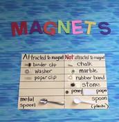 ELD/Exploratorium's Magnet Unit/Ms. Wesson's First Grade Class