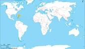 La mapa de República Dominicana