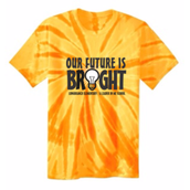 Short Sleeve Tie Dye (gold or pink) $14