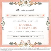 DOUBLE Hostess Rewards EXTENDED!!!