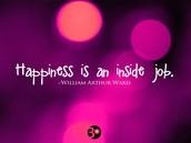 Work = Happiness
