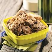 3.cinnamon granola bars