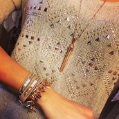 Cady Wrap/Renegade Bracelet/Rebel Necklace