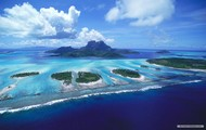 The Galapagos islands.