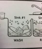 Washing sink number 1