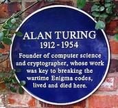 A plaque