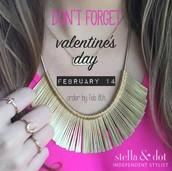 Valentine's Day is right around the corner!!