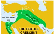 The map of the Fertile Crescent