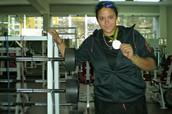 Alessandra Gamboa: 120.3 kg