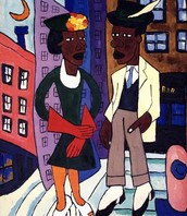 Street Life by William H. Johnson