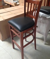 """Allegra"" bar stool with vinyl seat $49"