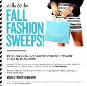 Fall Fashion Sweeps