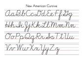 Cursive Handwriting
