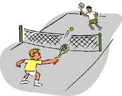Playing a Tennis Match