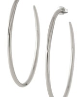 Signature Hoops - Silver