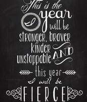 Be Fierce!