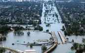 Hurricane Katrina flooded a big city