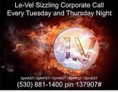Le-vel Corp call.