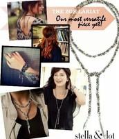It's a necklace, belt, bracelet- you name it!