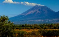 San Cristobal volcano about to erupt.