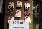 Foxy Earrings - Canadian Made