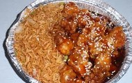 Seaseme Chicken And Fried Rice