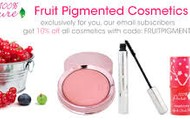 Organic Fruit Pigmented Makeup NO CHEMICALS
