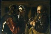 The Denial of Saint Peter Carauaggio