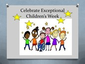 Exceptional Children's Week