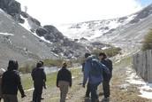 Estudiando montañas, glaciares, ...