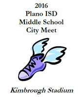 Plano ISD City Meet, April 11th and 12th