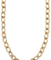 Christina Link Necklace- Gold