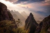 Mountains of China