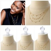 Versatile, Versatile, Versatile......The Pave Chevron Necklace
